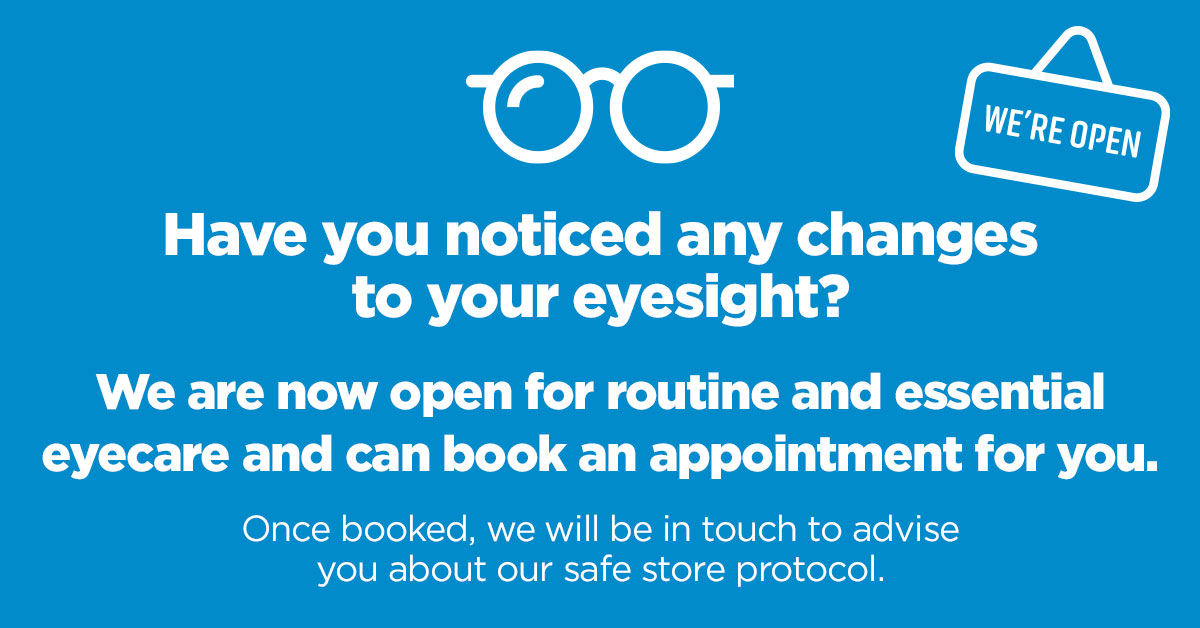 City Opticians London Open for Business