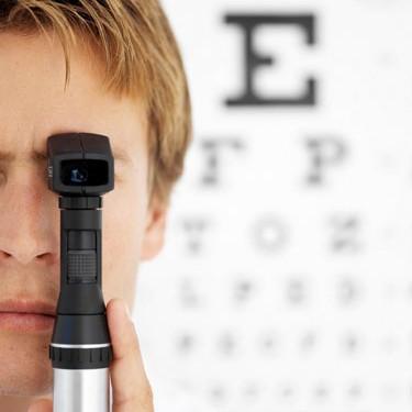 free eye test london