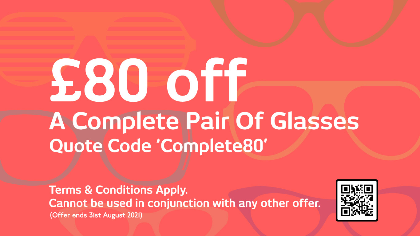 City Opticians London - £80 off A Complete Pair Of Glasses