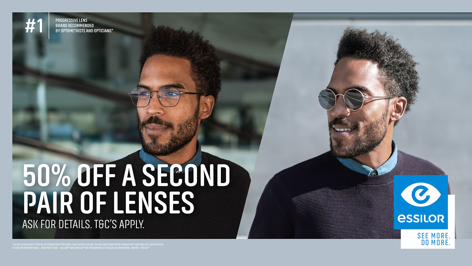 City Opticians London - 50% Off A Second Pair Of Lenses